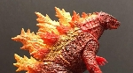 Enjoy new images of the NECA Burning Godzilla 2019 figure!