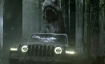 Jeff Goldblum evades a T-Rex again in Jurassic World Jeep commercial!
