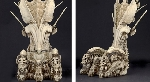 NECA reveal Predator Throne made entirely of Alien skulls!