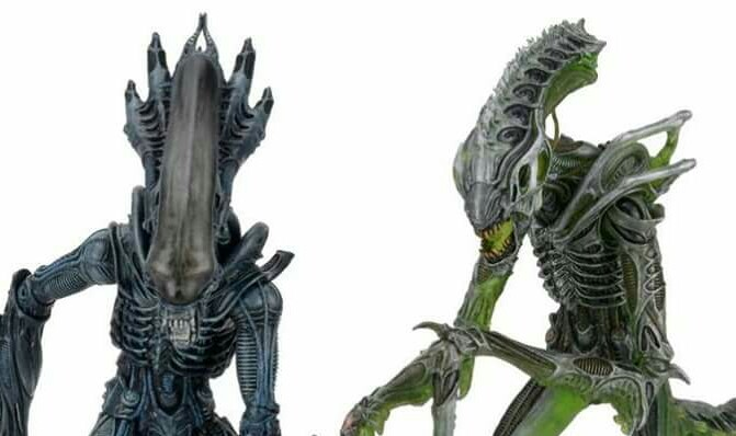 NECA release more photos of their Series 10 Aliens figures!
