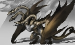 No, the King Ghidorah design from Godzilla 2 did not leak!