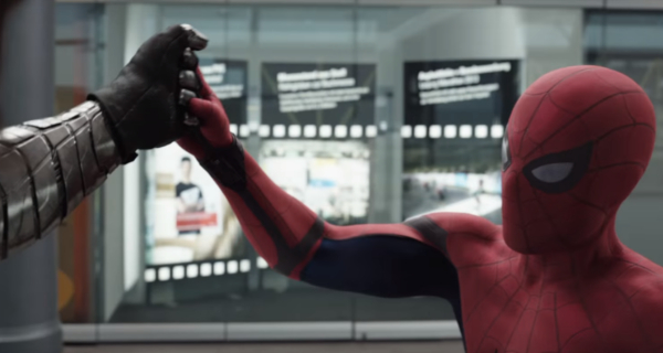 Spider-Man speaks in new Captain America: Civil War TV Spot!