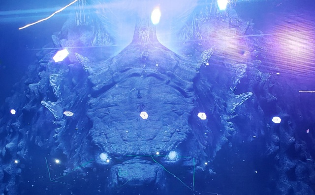 Sneak peek at Godzilla: King of the Monsters display from Brazil Comic-Con!