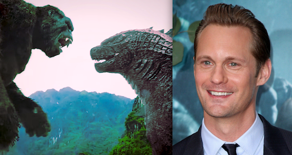 Star Alexander Skarsgard Talks Godzilla vs. Kong
