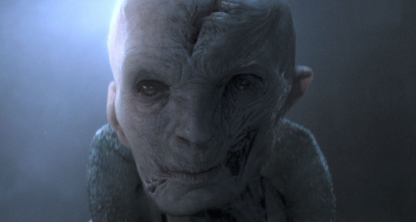 Star Wars Episode VIII's Snoke to be realized using practical effects!