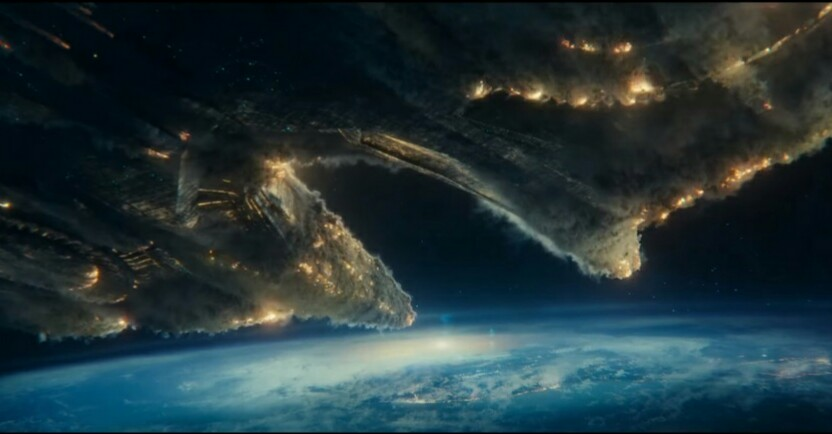 The new Alien Mother Ship in Independence Day: Resurgence is how big?!