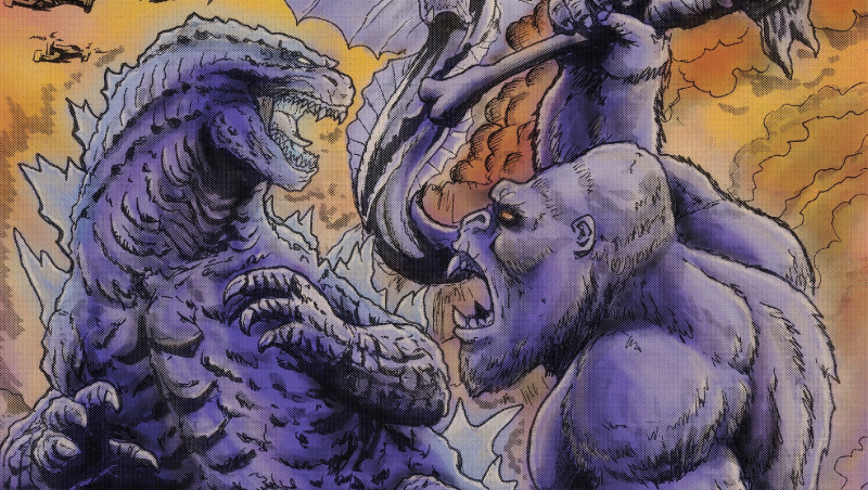 The new Monsters in Godzilla vs. Kong collide in epic new fan artwork!