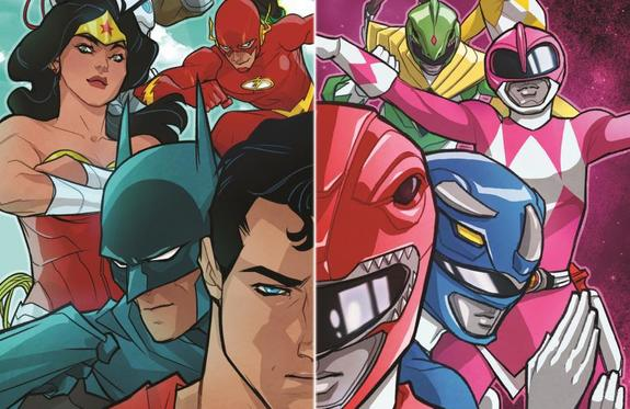 The Power Rangers Join Forces With The Justice League In New Comic Series