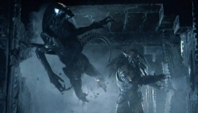 The Predator will reference Alien vs. Predator and other Predator movies!