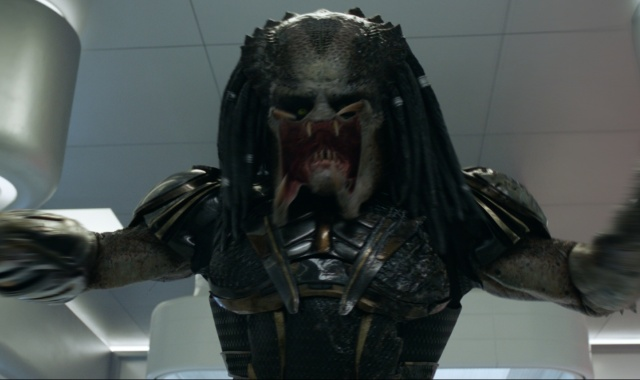 The Predator reshoots removed [SPOILER] and added references to Alien vs. Predator!