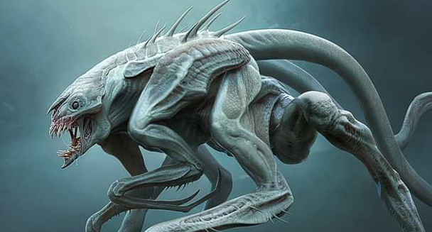 The Tomorrow War Aliens: Official White Spikes Concept Art!