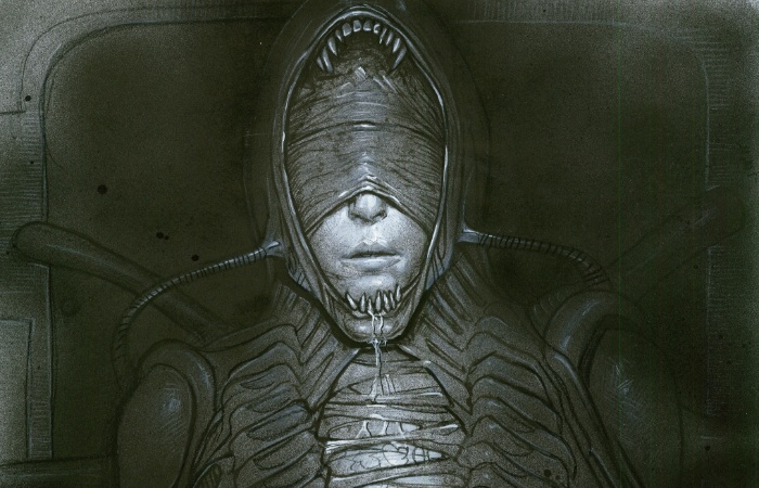 This fan's Alien: Awakening 'Xeno Shaw' concepts would've made Giger proud