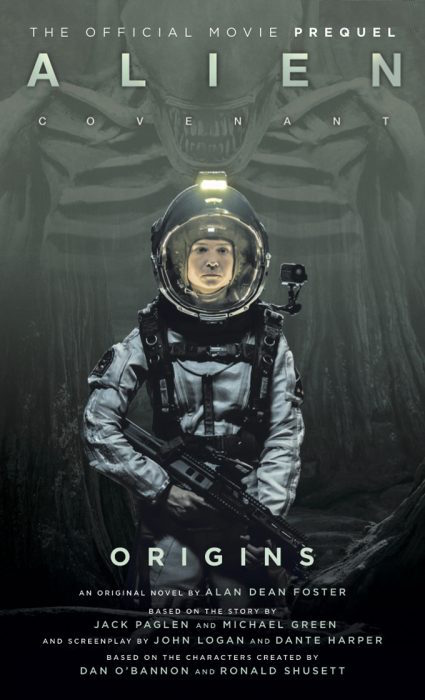 Titan Books Alien Covenant Prequel Cover Revealed