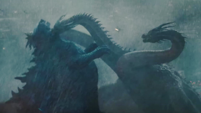 Toho release another Godzilla 2: KOTM TV spot with new Mothra vs. Rodan footage