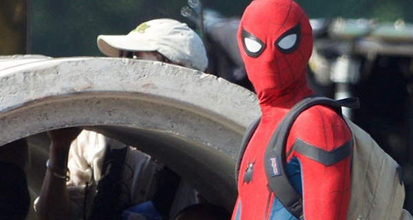 Tom Holland's Spider-Man caught on location in Atlanta!