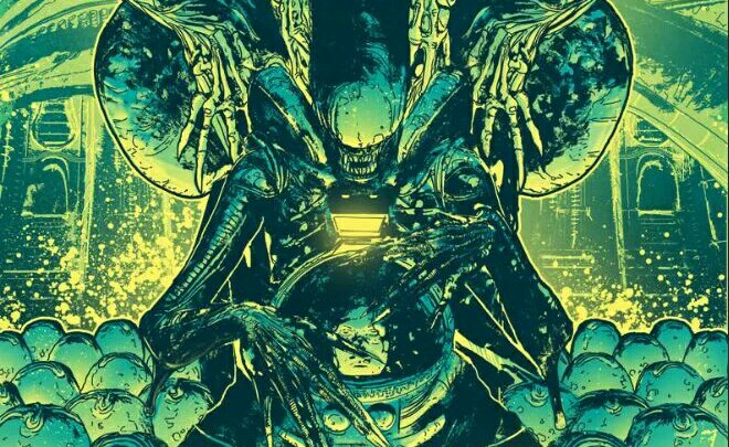 Tristan Jones reveals Alien Day exclusive poster!