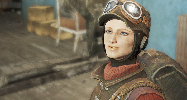 Tune in this evening at 7PM EST for a live podcast with Fallout voice actor, Jan Johns!