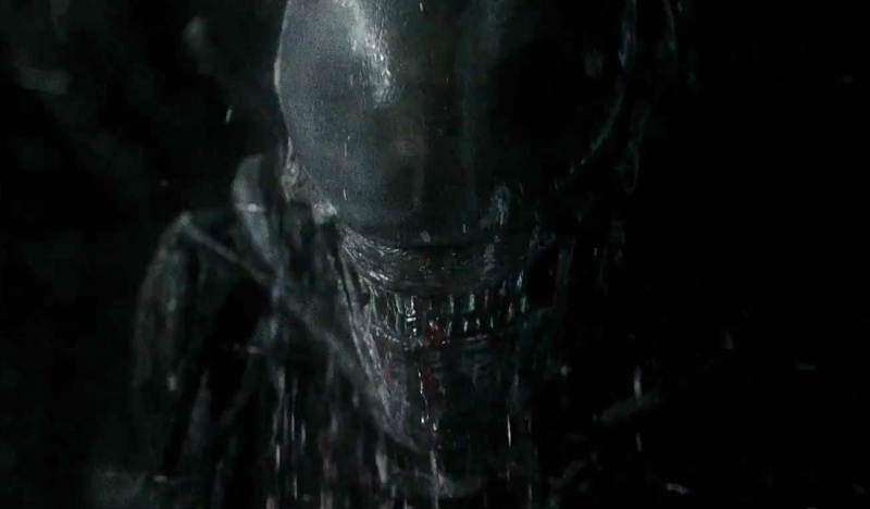 Three NEW Alien: Covenant TV Spots released! New Alien footage!