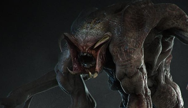 Unused Predator hybrid mutation concept from The Predator (2018)