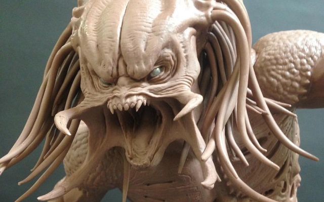 Unused Upgrade Predator concept from The Predator