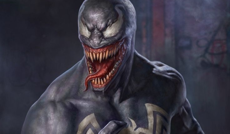 Venom (2018) set video shows Tom Hardy losing control to the Symbiote!
