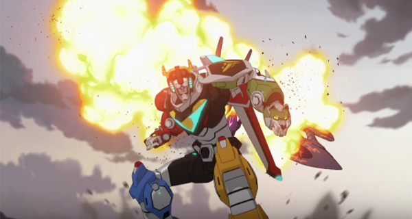 Voltron: Legendary Defender trailer released!