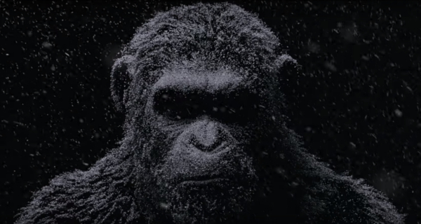 War for the Planet of the Apes viral video reveals snow covered Caesar!