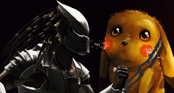 Watch the Predator make trophies of Pokémon - Gotta kill 'em all!