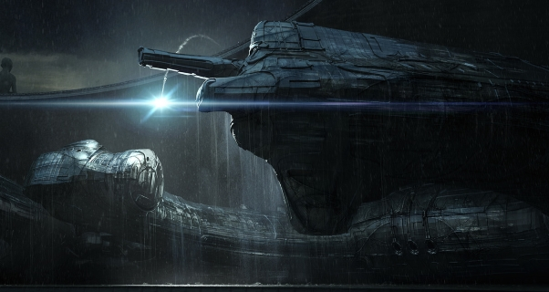 Wayne Haag shares remarkable Alien: Covenant concept art online!