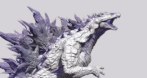 What do you think of this Albino Godzilla concept?