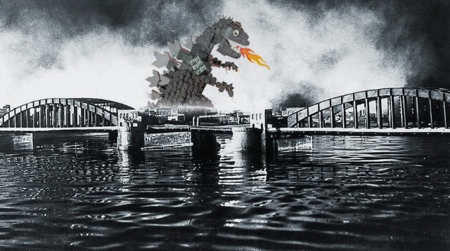 With your help, Godzilla can finally become an official LEGO set!