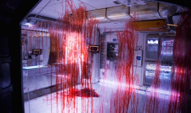 Witness the bloody aftermath of an Alien attack in new Alien: Covenant image!
