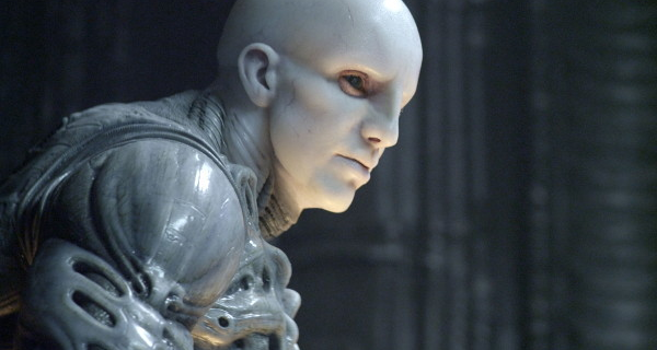 Why does Prometheus' Engineer look like Trent Reznor?