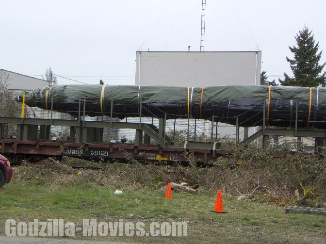 More Godzilla 2014 Set Photos