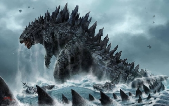 Incredible Godzilla 2014 Fan Art