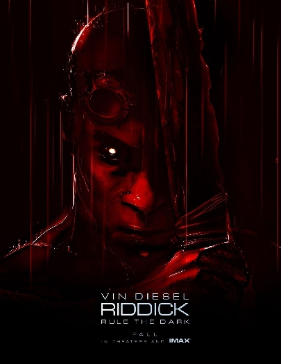 Riddick Poster Red