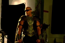 Vin Diesel on Set 02