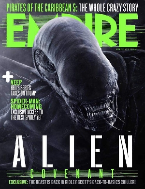 Alien: Covenant Empire Magazine Cover