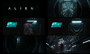 Alien: Covenant Straight Corridor (Inside)