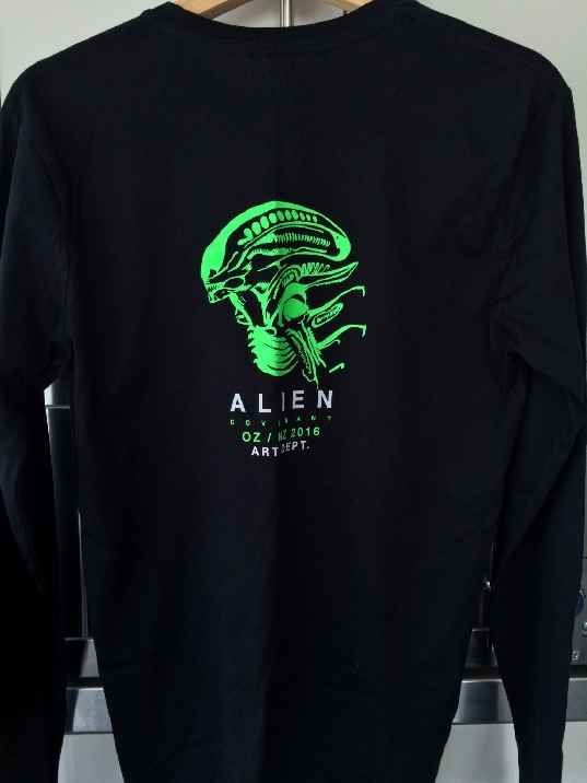 Alien Covenant Art Department Tees
