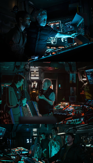 Alien Covenant inside cockpit