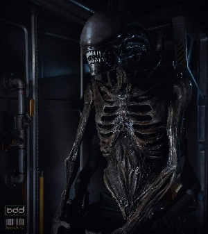 Alien Covenant Xenomorph suit (Rare Photo)