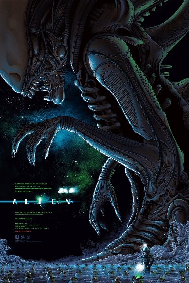 ALIEN Poster by Mike Saputo