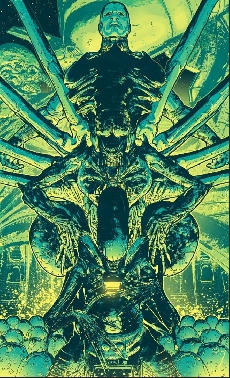 Alien Day poster by Tristan Jones