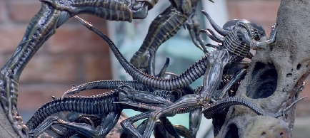 Alien King and Xenomorphs