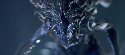 Alien King Close-Up