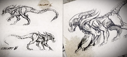 Alien King Concept Art