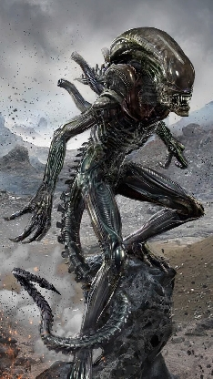 Alien Unleashed - Alien: Covenant fan art