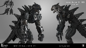 Alternative Mechagodzilla designs