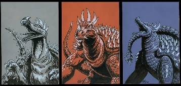 The evolution of Anguirus